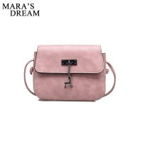 Dream Shell Women Messenger Bags High Quality Cross Body Bag PU Leather Mini Shoulder Bag Bolsas Feminina freeship 15 days