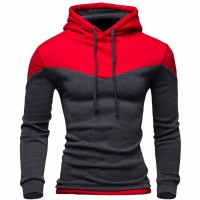 Cardigan Hoodies Male Sweatshirt Teenage Casual Hoody Jacket Autumn Coat Slim Patchwork Color freeship 14 days