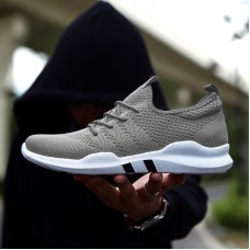 Hot brand Men Lightweight sneakers Breathable Slip-on Casual Shoes For adult Fashion Black freeship 14 days