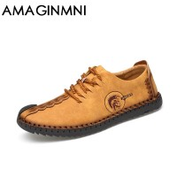 Comfortable Casual Shoes Loafers Men Shoes Quality Split Leather Men Flats Moccasins Shoes freeship 14 days