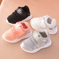 Fashionable net breathable leisure sports running shoes for girls and boys brand kids shoes freeship 14 days