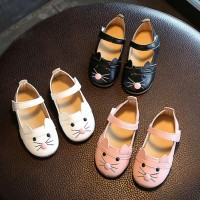 Baby Girl Fashion Princess Cat Dance Nubuck Leather Single Shoes For Girl Casual freeship 14 days