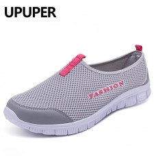 Breathable Mesh Shoes Woman Comfortable Ladies Shoes Outdoor Sneakers for Walking freeship 14 days