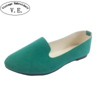 Women Flats Candy Color Woman Loafers Spring Autumn Flat Shoes Women Shoes freeship 14 days