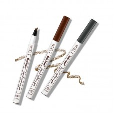 Eyebrow Pencil Pen Women Girl Waterproof Fork Tip Eyebrow Tattoo Pen Best Selling Free ship 15 days