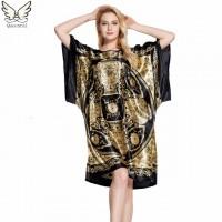 Sleepwear women Nightgowns nightwear Pyjama Women home clothing sleepwear female Nightdress sexy lingerie Gown Robe Bathrobe