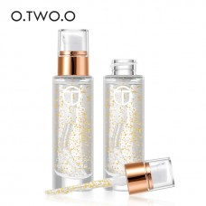 O.TWO.O Professional 24k Rose Gold Elixir Makeup Primer Anti-Aging Moisturizer Face Care Essential Oil Makeup Base Liquid 18ml