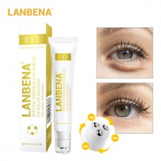 LANBENA Peptide Wrinkle Eye Serum Anti-Puffiness Fine Lines Dark Circle Anti-Aging Moisturizing Eye Patches Eye Care Beauty