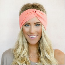 Headband Twist Turban for Women Bows Elastic Sport Hairbands Head Band Yoga  Headwrap Girls Hair Freeship 19 days