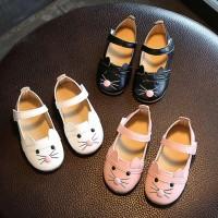 Baby Girl Fashion Princess Cat Dance Nubuck Leather Single Shoes For Girl Casual freeship 14 days