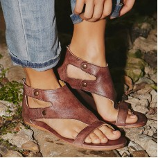 Women Shoes Soft Casual Shoes Female Zip Sandals Women freeship 14 days
