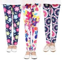 Baby Kids Childrens print Flower Toddler Classic Leggings girls pants Girls legging 2-14 Year freeship 14 days