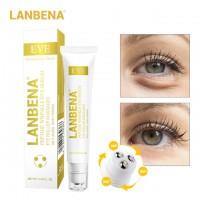 LANBENA Peptide Wrinkle Eye Serum Anti-Puffiness Fine Lines Dark Circle Anti-Aging Moisturizing Eye Patches Eye Care Beauty