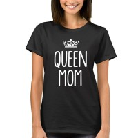 2018 Womens T-Shirt Queen Mom Funny Harajuku Product Clothes for Women Alien Vintage T Shirt Femme Tops
