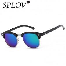 Half Metal High Quality Sunglasses Men Women Brand Designer Glasses Mirror Sun Glasses Fashion Gafas Oculos De Sol UV400 Classic FREE SHIP 20-38 DAYS