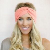 Headband Twist Turban for Women Bows Elastic Sport Hairbands Head Band Yoga  Headwrap Girls Hair Freeship 19 days